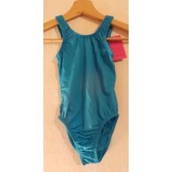 Body turquoise à bretelles