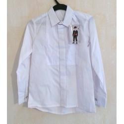 Chemise blanche flamenco garçon et fille