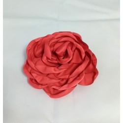 Fleur rose rouge pice plate 12 cm