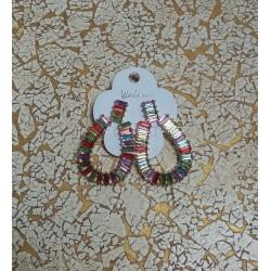 Boucles FANTAISIE multicolor