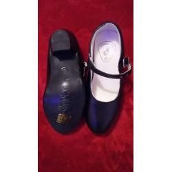 Chaussures noires sans clous