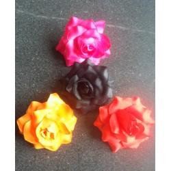 Fleurs 7 cm pince plate