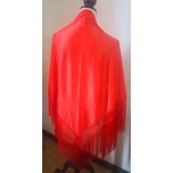 Châle 175 cm Rouge