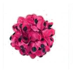 """Grande fleur """"boule"""" 12 cm pince à dents"""